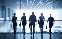 silhouettes of businesspeople (rkprsolutions) Tags: business team work silhouette social teamwork businesscentre partnership figure together executive concept windows success organization group human corporate airport transaction urban life male people suit management partner women men conversation city person employee blurring professional inside conference travel crowd meeting staff modern manager indoors office businessman glass communication russianfederation