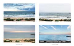 Timmendorfer Strand - 4 moments (Passie13(Ines van Megen-Thijssen)) Tags: deutschland timmendorferstrand germany moments beach strand view aussicht ostsee collage fujifilm x100f inesvanmegen inesvanmegenthijssen