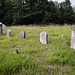 Family cemetery near Acton, Maine, July 2018