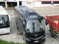 """2018 031003 SCANIA IRIZAR COACH PGS TRAVEL GROUP MADRID 46 6132 KFP IN FRIGLIANA (Andrew Reynolds transport view) Tags: europe spain andalucia transport bus coach transit passenger omnibus diesel """"mass transit"""" 2018 031003 scania irizar pgs travel group madrid 46 6132 kfp in frigliana"""
