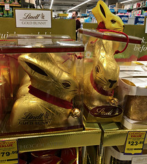 2019 Sydney: Easter Egg Time Again? (dominotic) Tags: 2019 shopdisplay food confectionery yᑌᗰᗰy easteregg chocolaterabbit chocolate sweets foodphotography iphone8 sydney australia