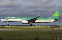 Aer Lingus (ASL Ireland) 757-200 EI-CJX (birrlad) Tags: dublin dub international airport ireland aircraft aviation airplane airplanes airline airliner airlines airways arrival arriving approach finals landing runway boeing b752 b757 757 757200 7572y0 eicjx aerlingus asl aircontractors maintenance shamrock