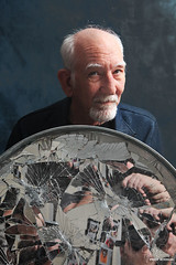 Dad (Philip Bonneau) Tags: dad reflection camera portrait man beard white mirror self conceptual