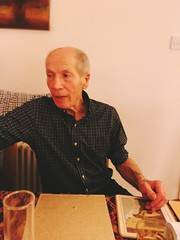 Cliff Bonsor on New Year's Eve 2018 (Paul Conneally) Tags: leicester portrait paulconneally poetry haibun haiku newyear