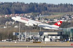 Airbus A220-300 Bombardier CSeries CS300 Swiss HB-JCK ZRH Zurich Airport Switzerland 2019 (roli_b) Tags: airbus a220 a220300 300 bombardier cseries cs300 swiss airline hbjck depart departing take off zrh zurich airport switzerland aeroport suisse aeropuerto suiza sivzzera flughafen zürich schweiz aircraft airplane jet flugzeug flieger avion aereo aviaation 2019