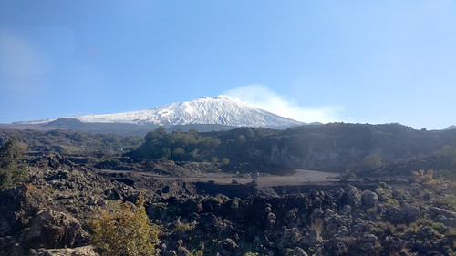 Views from the Circumetnea railway, around the Etna volcano in Sicily