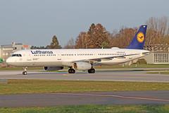 Airbus A321-131 - D-AIRB - HAJ - 02.04.2019 (Matthias Schichta) Tags: haj hannoverlangenhagen eddv flugzeugbilder planespotting lufthansa airbus a321100 dairb