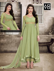 Sparky Green Anarkali Salwar Suit #YOYOFashion Online shopping. (yoyo_fashion) Tags: style stylish straightsalwarsuit anarkali fashion fashionstyles fashiongram dresses dress greendress