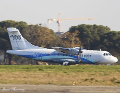 ATR Test Flight ATR42-600 F-WWLY (birrlad) Tags: toulouse francazal airport france atr prop props turboprops test flight atr42 atr42600 fwwly training runway
