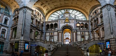 Antwerpen Centraal (Christy Turner Photography) Tags: architecture trains architect trainstation travel belgium europe antwerp
