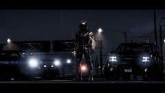 Winter Soldier | GTA V (Stellasin) Tags: angeles game gaming dark darkness car cars water beauty beautiful blur buildings bridge city clouds downtown destruction mods reflection graphics gta gtav hot highway photography night sky los road rain screenshot v weather winter soldier