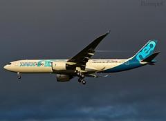 F-WTTN Airbus A330 Neo (@Eurospot) Tags: fwttn airbus a330 neo a330900 toulouse blagnac 1795