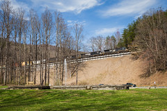Climbing the Loops (Peyton Gupton) Tags: ns norfolk southern loops old fort andrews geyser