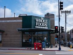 Whole Foods (Joe Wilcox) Tags: fujigfx50r fujifilm sandiego streetphotography wholefoods grocerystores amazon