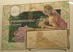 Affiche pour le cognac Barriasson & Cie - Musée des Arts du cognac, Cognac (16) (Yvette G.) Tags: cognac 16 charente poitoucharentes nouvelleaquitaine musée muséedesartsducognac affiche labelleépoque cognacbarriasson