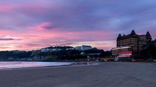 Scarborough beach dawn