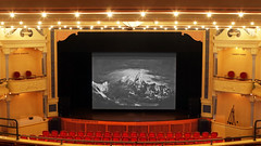 From the Balcony (Jan Nagalski) Tags: stage auditorium performancevenue venue opera operahouse historicbuilding historicsite lights red gold panoramicview victorian traversecity northwestmichigan michigan jannagalski jannagal