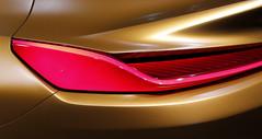 Car Design (EOS1DsIII) Tags: eos1dsiii deutschland frankfurtmain germany auto detail car design metallic shape form rücklicht glanz rot
