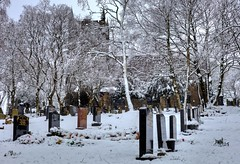 Denshaw Parish Church (Missy Jussy) Tags: denshawparishchurch denshaw church buildings graveyard gravestones grave cemetery trees snow winter february 2019 cold frozen frost saddleworth outdoor outside tree 50mm ef50mmf18ll ef50mm canon50mm fantastic50mm fixedfocallength primelens prime canon canon5dmarkll canon5d canoneos5dmarkii