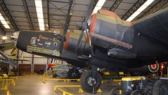 "Handley Page Halifax B.2 United Kingdom Air Force serial HR792 one side serial ""NP763"" N-H7 and the other side serial ""LV907"" NP-F (Erwin's photo's) Tags: yorkshire air museum allied forces memorial halifax way elvington york yo41 4au united kingdom england preserved aircraft royal force navy army raf rn handley page b2 serial hr792 one side np763 nh7 other lv907 npf"