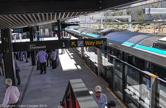 Sydney Metro - Cherrybrook revisted (1) (john cowper) Tags: sydneymetro cherrybrook station metrotrain metropolis alstom transportfornsw infrastructure openday sydney newsouthwales australia