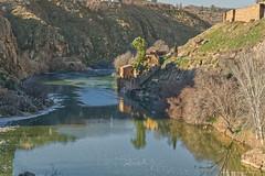 River Tagus. 2019. (J. Zweig) Tags: nikon nikond5200 d5200 sigma affinityphoto toledo river rivertagus ríotajo río castillalamancha spain españa europe europa eu ue