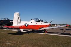 170408_114_SnF_NavyT6_TAW5 (AgentADQ) Tags: sun n fun flyin expo lakeland florida 2017 airshow air show airplane plane us navy t6 texan ii taw5 trainer