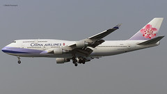 China Airlines (CI/CAL) / 747-409 / N168CL / 12-24-2006 / HKG (Mohit Purswani) Tags: taiwan taipei ci cal chinaairlines 744 747 747400 b747 b744 boeing747 boeing747400 n168cl hkg hkia clk vhhh hongkong airlines aircraft aviation planes olympus c750 widebody civilaviation commercialaviation airline landing arrival finalapproach