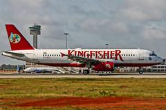 Kingfisher Airbus A320 VT-KFL Bangalore (BLR/VOBL) (Aiel) Tags: kingfisher airbus a320 vtkfl bangalore bengaluru