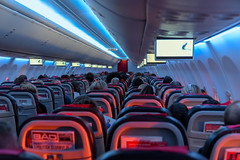 Aircraft cabin (Jorge Franganillo) Tags: norwegianairshuttle airline aircraft avión cabina cabin interior inside vuelo flight travel travelling viaje viajes viajar aerolínea lowcost bajocoste
