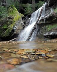 Hidden Falls (MatthwJ) Tags: hidden falls waterfall hocking hills 2019