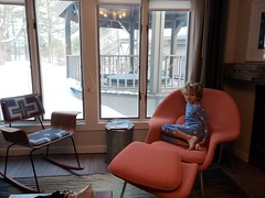 Everett In Our Room At Field Guide (Joe Shlabotnik) Tags: stowe vermont fieldguide everett justeverett cameraphone galaxys9 february2019 2019
