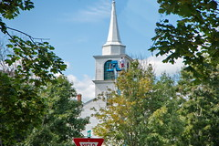 13 Tory Hill Meetinghouse - Spray Painting the Steeple (Adventure George) Tags: acdseephotostudio americanperiodorstyle americanhistory architecture august backroad church churchandsociety churchbuilding culturalartifacts cultureandsociety historicamericanbuilding maine nationalregisterofhistoricplaces newengland nikond750 northamericanperiodorstyle photogeorge photoshoot religion religionandculture rural rurallife ruralliving ruralroad ruralscenes summer unitedstatesofamerica us usa buxton toryhillmeetinghouse federaliststylebuilding americancolonialperiod yorkcounty firstcongregationalchurchofbuxton steeple spraypainting