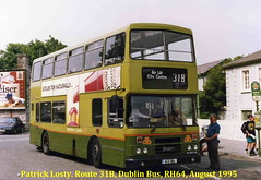 Route 31B, Howth Station (via Howth Summit and Carrickbrack Road) to Lower Abbey Street, Dublin Bus, RH64, August 1995 (Shamrock 105) Tags: dublin dublinbus clontarfgarage howth sutton howthsummit leyland leylandolympian alexander rh64 cummins route31b lowerabbeystreet heinzketchup hillofhowthtram howthtram