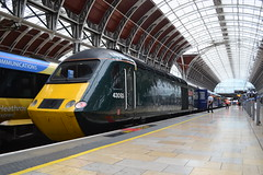 Great Western Railway HST 43093 (Will Swain) Tags: london paddington station 21st august 2018 greater city centre capital south train trains rail railway railways transport travel uk britain vehicle vehicles england english europe class 43 high speed great western hst 43093 093 93