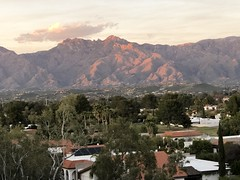 Santa Catalina Mountains in Tucson (Paul L McCord Jr) Tags: santa catalina mountains tucson arizona sunset
