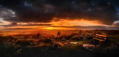 Pedroso (Noel F.) Tags: sony a7iii iii a7 fe 24 14 gm panorama pedroso monte santiago compostela galiza galicia sunset solpor