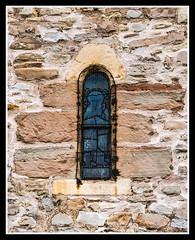North Wall Window (veggiesosage) Tags: grade1listed gx20 eastleake nottinghamshire aficionados church historicchurch normanchurch