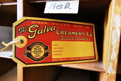 Galva Creamery (Laurence's Pictures) Tags: medota illinois railroad museum train station amtrak tourism things see cbq burlington chicago quincy northern agent office