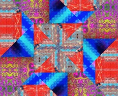 Chromatic Croutons (stevechab) Tags: chromatic croutons kaleidoscope trippy pattern