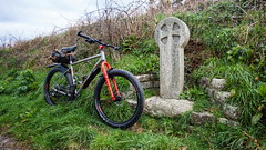2019 Bike 180, Ride 18, 22nd March. (Photopedaler) Tags: 2019bike180 cornishcycling marinpinemountain bicycle roadsidecrosses celticcross