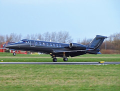G-USHA Learjet 75 (SteveDHall) Tags: aircraft airport aviation airfield aerodrome aeroplane airplane bizjet biz corporatejet blackpool blackpoolairport bpl blk egnh businessjet executivejet privatejet gusha learjet75 lj75 learjet 2019