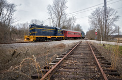 Hageman Junction, OH (Wheelnrail) Tags: co chesapeake ohio railroad crc cincinnati railway company train trains gp7 lmm lebanon mason monroe student qualifying hageman junction special