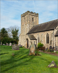 Thurcaston: All Saints' Church (Phil McIver) Tags: thurcaston church leicestershire