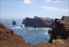Ponta do Castelo (Madeira, Portugal, 2-7-2014) (Juanje Orío) Tags: 2014 madeira portugal europeanunion mar océano atlántico costa agua water naturaleza nature isla
