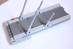 Boarding Ramp 1 (KirtonBricks) Tags: technic brick lego millennium falcon 75192 mod moc kirton star wars han solo