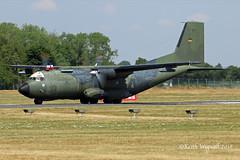 50+72  C-160D Transall  German Air Force (Keith Wignall) Tags: fairford ffd riat c160 transall germanairforce luftwaffe cargo