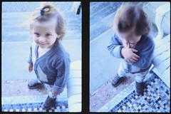 _RAK9736 (Daniele Pisani) Tags: olympus pen velvia50 costanza susanna baby sitter neve cani lea dylan macchina giardino half frame