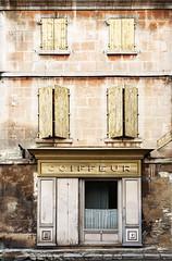 Hairdresser (JLM62380) Tags: windows fenêtre hairdresser shutters saintrémydeprovence france jaune yellow shop boutique