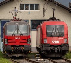 Vectron 1293-021 | Taurus 1016-044 (The Rail Net) Tags: öbb innsbruck bahnhof